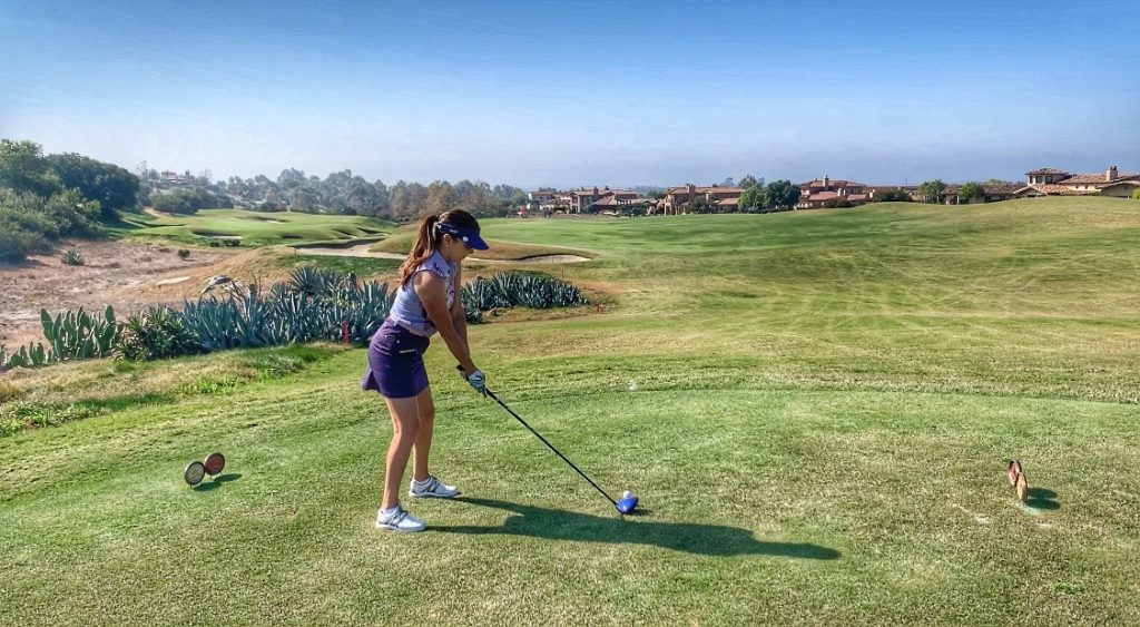 Provisional Ball on the tee box
